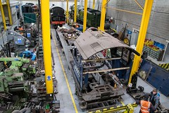 'SIR NIGEL GRESELY 60007 IN THE WORKSHOP' - 'NRM YORK' - NOVEMBER 2016 (tonyfletcher) Tags: tony fletchernrmyorksteam locomotivenational railway museum york60007sir nigel greselya4a4 locomotive