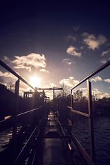 industrial haven (Andreas Höschel) Tags: wasser himmel sky water sun sonne 20mm uww ff fullframe sony a7 m42