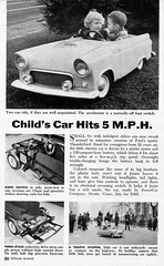 1955 Thunderbird Jr. (aldenjewell) Tags: 1955 ford thunderbird jr powercar kiddie car popular science article