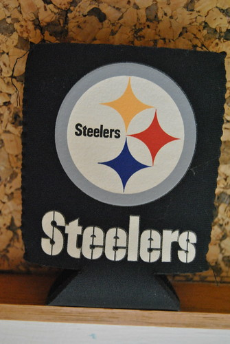 Steelers soda can cover