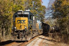 CSX K617-21 (travisnewman100) Tags: csx train railraod emd ojg sgc cartersville subdivision owa wa sd502 sd70mac sd402 k617 georgia atlanta division chattanooga tennessee unit freight ethanol dark territory ec1
