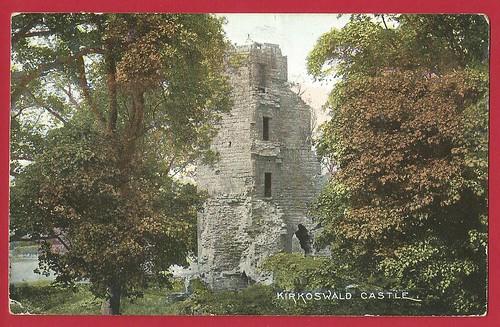 Kirkoswald Castle, Cumbria.