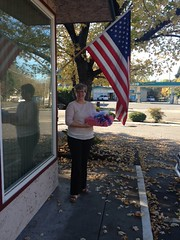 Neptune Society of Northern California, Chico - Delivering Cakes to VA Medical Clinic in Honor of Veterans Day
