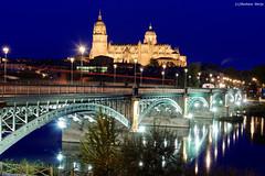 Salamanca (Gustavo Garijo) Tags: nikond750 nikon28300vr salamanca provinciadesalamanca catedral riotormes catedraldesalamanca tormesriver rio puentesobreeltormes