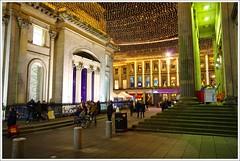 Royal Exchangs Square Christmas Lights (Ben.Allison36) Tags: royal exchangs square christmas lights glasgow scotland night shot hand held