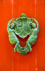 Door handle on a red door in Mdina,Malta (thorrisig) Tags: 02112016 litirogform malta mdina hur hurarhnn nrmynd rauur thorrisig thorfinnursigurgeirsson thorri orrisig thorfinnur orfinnur orri orfinnursigurgeirsson sigurgeirsson sigurgeirssonorfinnur dorres closeup door doorhandle doorknob sculpture red