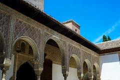 Palacio Nazaries square (Samir Rorless) Tags: sony pentax smc takumar 28mm f35 andalusia alhambra a6000 granada