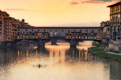 A Painting from Florence (Edoardo Angelucci) Tags: geo:lat=43766275 geo:lon=11258778 firenze florence city italy italia sunset golden orange tramonto sun december edoardo angelucci photography ilce7m2 fe70200f4
