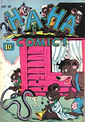 Ha Ha 39 (Michael Vance1) Tags: comics comicbooks cartoonist art anthology funnyanimals fantasy funny humor goldenage