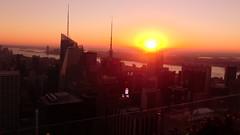 New York: sunset over Manhattan & Hudson River (from The Rock observation desk) (Traveller-Reini) Tags: newyork sun sunset sunshine sonne sonnenuntergang nyc sunnyday wolkenkratzer sehenswürdigkeiten sightseeing skyscraper skyline outdoor urban america amerika metropole megapolis manhattan usa usaeastcoast bigapple town city cityneversleeps observationdesk aussichtsturm unitesstatesofamerica