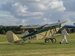 Parnall Elf - Old Warden (davepickettphotographer) Tags: theshuttleworthcollectionuk oldwarden airshow bedfordshire biggleswade beds aircraft airmuseum aviation olympuscamera davepickettphotographer vintage museum parnall elf