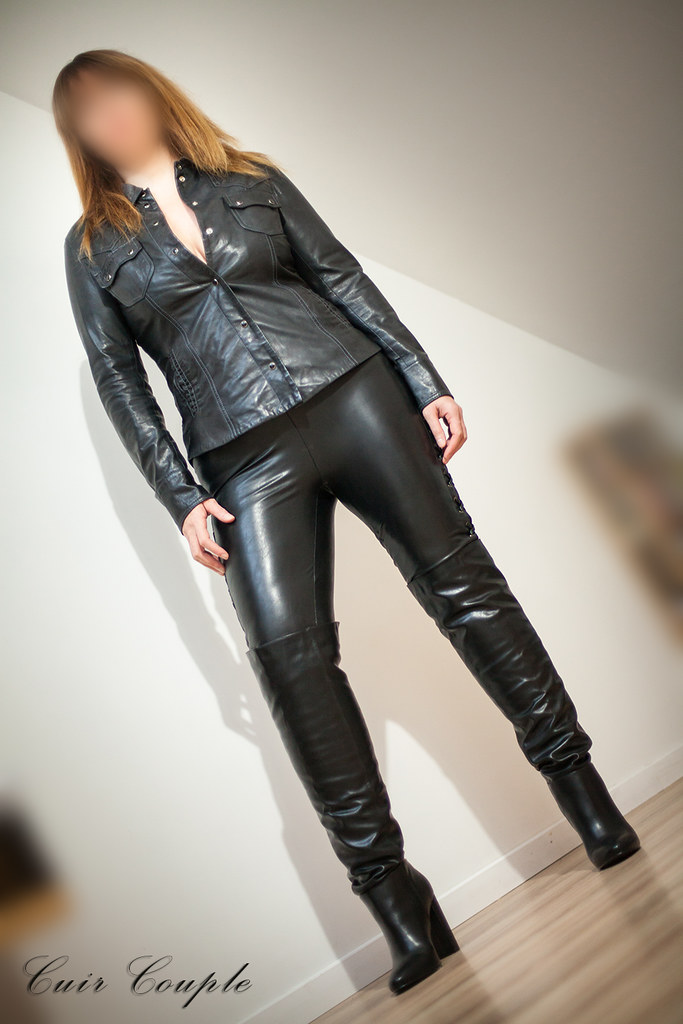 couple leather