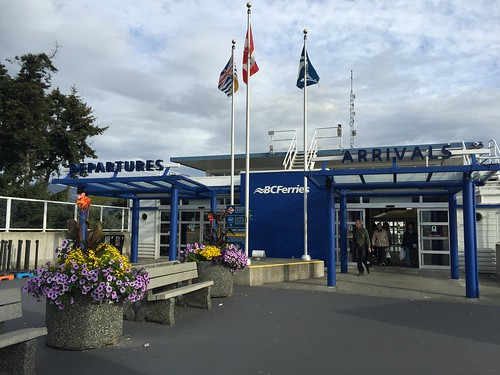 B.C. Ferries Victoria Swartz Bay Terminal