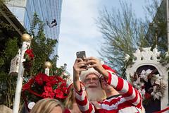 1612 Where's Waldo flashmob52 (nooccar) Tags: dtphx 1612 improvaz dec2016 nooccar cityscape devonchristopheradams whereswaldo contactmeforusage devoncadams dontstealart flashmob photobydevonchristopheradams santa selfie christmas