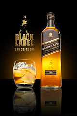 Johnnie Walker Ad with Gold Stamp GLOW (Noel Bass) Tags: black photoshop advertising bottle whiskey walker commercial whisky product johnnie johnniewalker printad productphotography whiskeybottle commercialphotography photographerla glasswhiskey photographerlosngeles