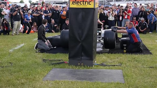 JR Hildebrand @ Pit Stop Competition