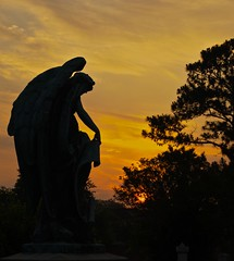 untitled-19 (mike337) Tags: cemetery statue sunrise virginia raw sony norfolk a330 2011 tamron18200