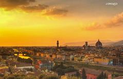 Atardecer en Florencia. (orojose) Tags: