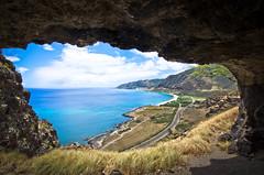 uppermaukacave-5320 (justinn17) Tags: ocean road mountains beach water landscape hawaii nikon oahu tokina caves cave roads 1116 d7000 unrealhawaii