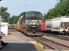 Norfolk Southern (Littlerailroader) Tags: railroad train newengland trains transportation locomotive freighttrains trainspotting locomotives railroads freighttrain norfolksouthern ayer ayermassachusetts