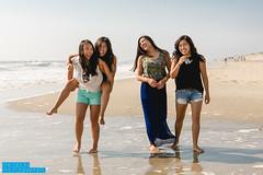 OBX : Family Portraits (iamdusky) Tags: girls light summer portrait beach portraits canon asian women candid naturallight shore 5d3 5dmarkiii