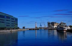 2013-07-23 (Giåm) Tags: lighthouse skåne sweden schweden sverige malmö phare suede fyr leuchtturm scania fyren inrehamnen scanie universitetsbron
