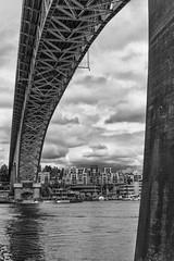 Aurora Bridge (Diueine) Tags: seattle leica bridge blackandwhite bw usa 50mm prime washington cosina voigtlander rangefinder m aurora mm monochrom asph nokton monteiro voigtlnder cv rf array f15 orangefilter leitz aspherical diueine 2013 consina