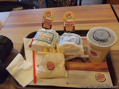 Burger King Chicken Crips Fillet Burger
