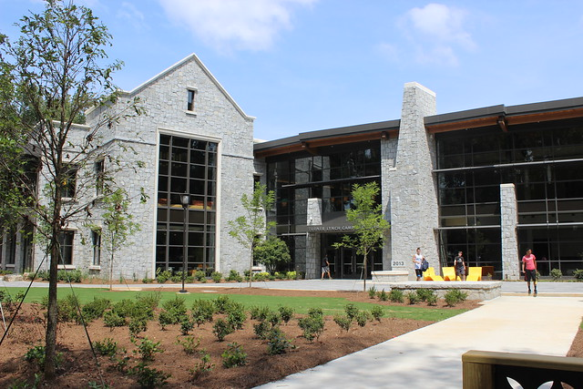 First Glance at the new Turner Lynch Campus Center