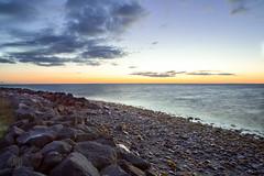 IMG_9319 (O.G. Ljsmyndun) Tags: seaweed landscape iceland dusk shore sland nightsun longshutterspeed fjara alftanes slarlag kvld lftanes langdslag sjr