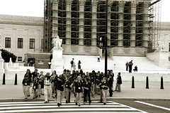 DC School Trip (Texaselephant) Tags: school kids washingtondc teacher fieldtrip crosswalk supremecourt
