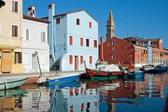 IMG_8706_4790 (jimj0will) Tags: venice italy water colors reflections boats canal italian italia colours canals unesco worldheritagesite venetian venezia burano waterways jimj0will jimjowill