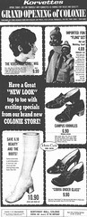 Korvettes department store opening ad  1970  albany ny   1970s (albany group archive) Tags: old albany historic ny vintage korvettes colonie northway mall 1970 1970s white gogo boots oldalbany history
