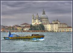Santa Maria della Salute Basilica (David Gilson) Tags: venice sea italy church boats nikon europe sigma grandcanal santamariadellasalute nikond7000 inspiringcreativeminds