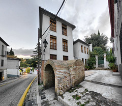 Rincones de Granada (puma3023) Tags: espaa spain granada albaicin cuesta aljibe chapiz