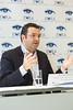 "Arnaud Bouille (Ernst & Young)  at the press conference where EWEA launched a new report, ""Where's the money coming from? Financing offshore wind farms"" 
