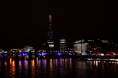 (Luca Serravalli) Tags: city urban london thames skyline night river nikon citylights d7000