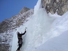 """Cascata di Ghiaccio """"Torre di Luna"""" ... love me three time - Inverno 2013"""