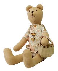 Mama misiowa z torebk szmacianka - MILLKA - DaWanda.pl - 46z (DaWanda Polska) Tags: kids toys dzieci zabawki mi zabawka przytulanka dawanda millka
