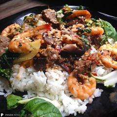 Spicy Surf 'n' Turf Stir-F