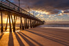 Lines in the Sand (mojo2u) Tags: california sunset beach pier sandiego ib imperialbeach ibpier nikon2470mm nikond800 inperialbeachpier