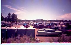 Autzen Stadium Grateful Dead lot (samonberry) Tags: summer film oregon 35mm dead tour stadium lot scene grateful 1994 autzen
