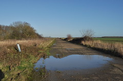 RAF Deenethorpe, Long NW Taxiway (SteveSmith83) Tags: abandoned b17 northants raf airfield 8thaf deenethorpe