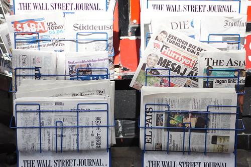 Newspaper Stand by Yukiko Matsuoka, on Flickr