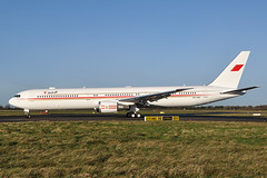 A9C-HMH 767-4FS (ER) Bahrain Royal Flight (n707pm) Tags: ireland painting airplane airport aircraft flight vip amiri dub dublinairport b767 a9chmh 29122013 bahrainroyalflight bahraingovernment b0eing eirtech cn34205
