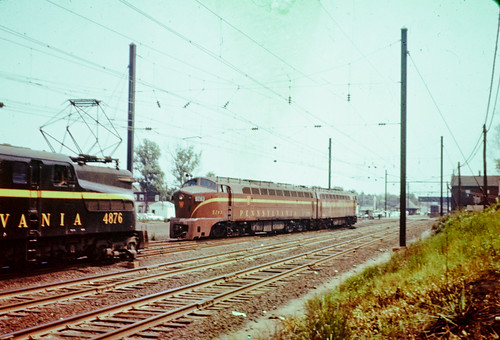railroad electric pennsylvania trains locomotive gg1 prr dr642000