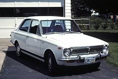 white cars 1969 car sedan nine toyota 69 slides corolla mycar sixty nineteen 2door nineteensixtynine t31a