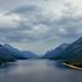 Looking Down Upper Waterton Lakes