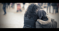 "3/52 Project 2014 "" Lovers "" (Orione59) Tags: street people urban canon project photography bokeh candid streetphotography lovers cinematic 2014 ef135mmf20 5dmk3 orione1959 orionephotographer"