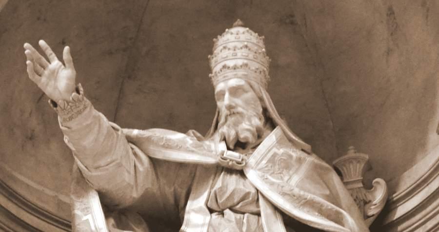 Усыпальница папы Григория XIII в Риме